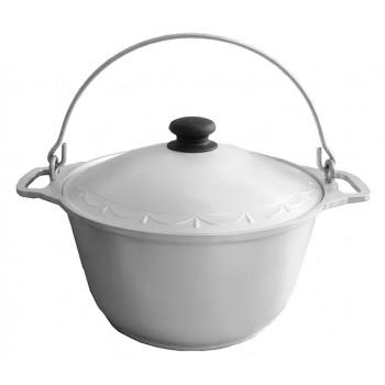 Казан 6 л кухонно-туристичний, алюмінієвий (потовщений)