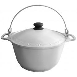 Казан 8 л кухонно-туристичний, алюмінієвий (потовщений)