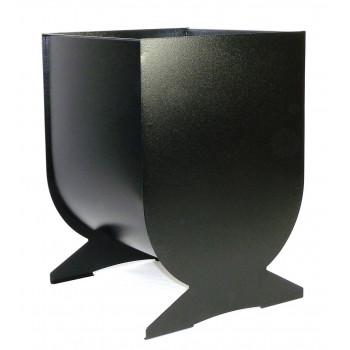 Урна, мусорный бак, для улицы №5, черная